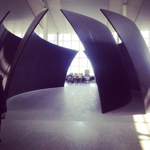 Richard Serra Toronto Airport