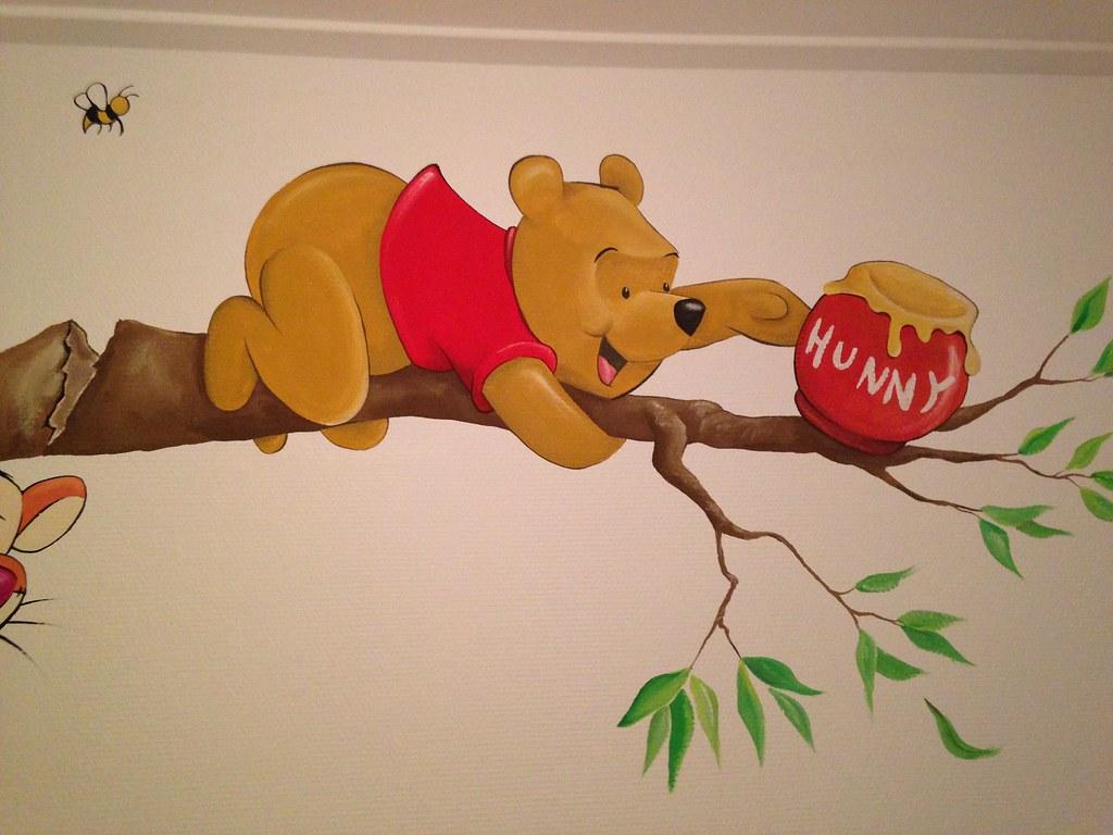 Toetie kolorie: muurschilderingen op baby  en kinderkamers