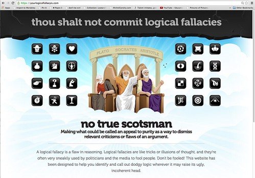 Your Logical Fallacy Is ...
