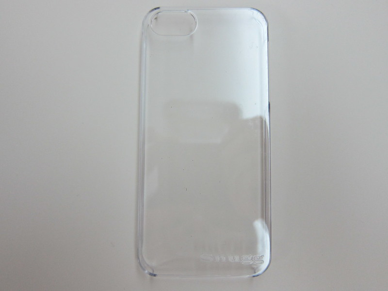 Snugg iPhone 5s Ultra Thin Clear Case - Back