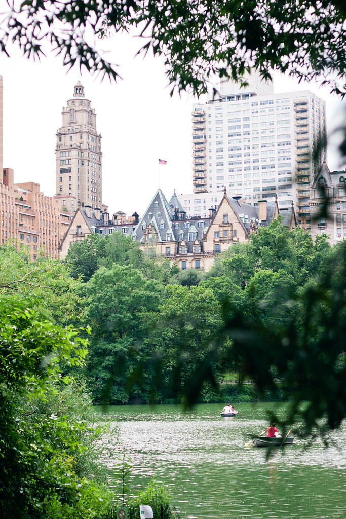 {scenes from central park, 1} via chevrons & éclairs
