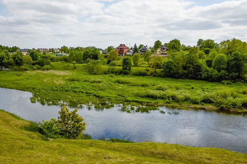 landscape latvia paysage bauska lettonie