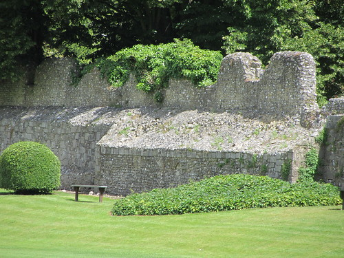 Roman wall in Winchester