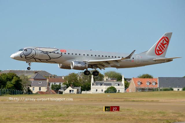 OE-IHB Embraer 190