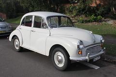 mid-size car(0.0), dkw 3=6(0.0), compact car(0.0), automobile(1.0), vehicle(1.0), morris minor(1.0), antique car(1.0), sedan(1.0), classic car(1.0), vintage car(1.0), land vehicle(1.0),