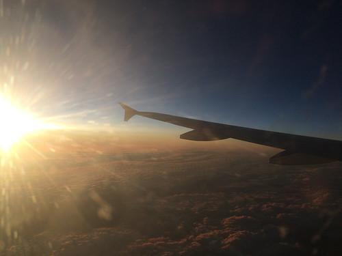 Vol de Punta Arenas à Santiago de Chile