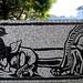 Arte urbano en la plaza de La Dolorosa av.12, c.0/Urban art in La Dolorosa square 12th av., 0 st.