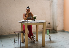Dancer at Table