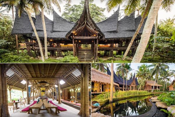 Eksterior Bambu Indah