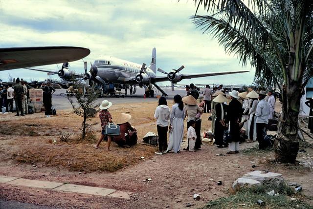 Phu Bai Airport 1967 - Photo by Edward Palm