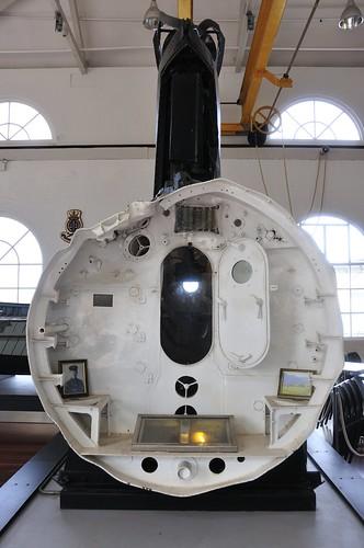Conning Tower & Hull section, Ko-hyoteki Class midget submarine