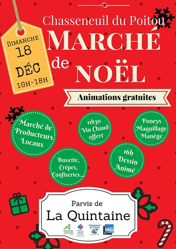 MARCHE-DE-NOEL-18-décembre-2016-Chasseneuil-du-Poitou-Vienne-86-Poitiers-Futuroscope
