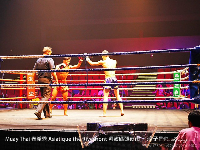 Muay Thai 泰拳秀 Asiatique the Riverfront 河濱碼頭夜市 10