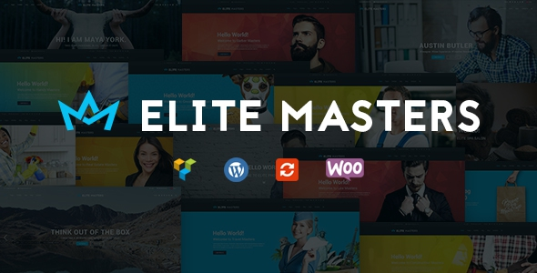 EliteMasters v1.2 - Business Multi-Purpose WP Theme