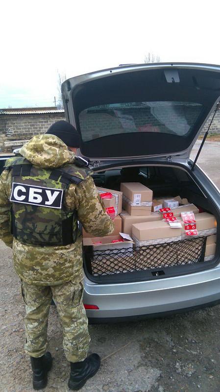 За добу СБУ вилучила на Донеччині нелегальні товари на 4,5 мільйона гривень_6
