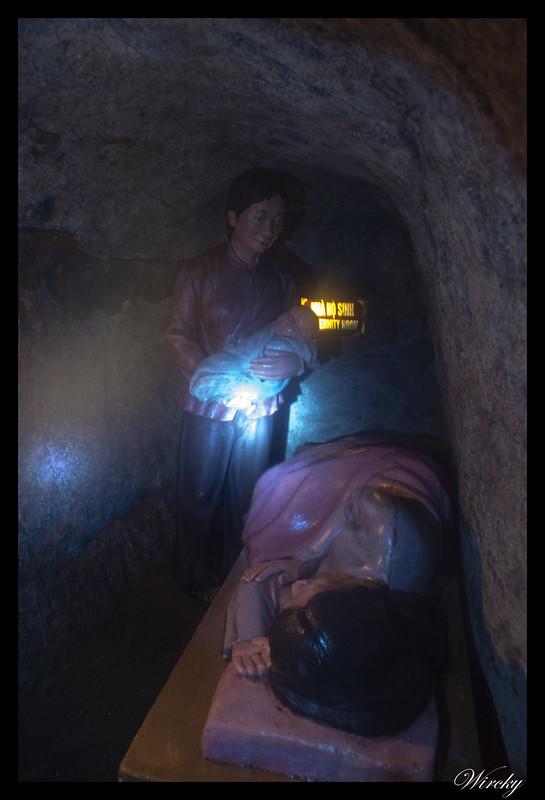 Túneles Vinh Moc - Sala de maternidad