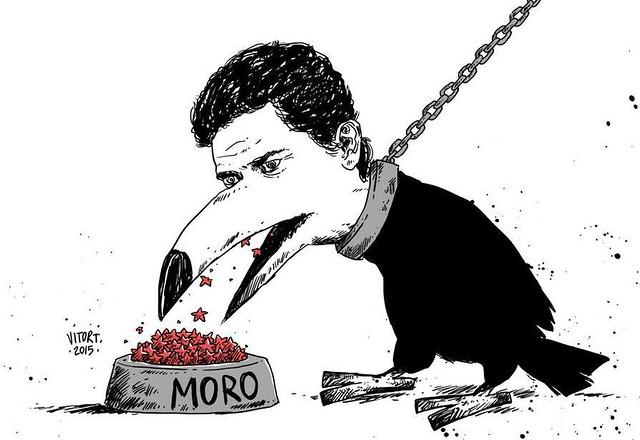 A ração do juiz - Créditos: Vitor Teixeira