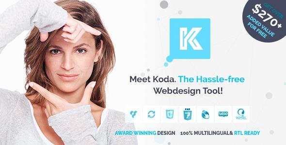 Koda v1.3.3 - Advanced Creative Multi-Purpose Theme for Beginners and Professionals