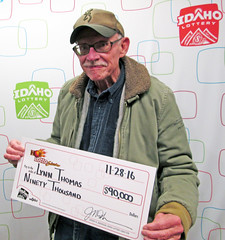 Lynn Thomas - $90,000 Hot Lotto Sizzler