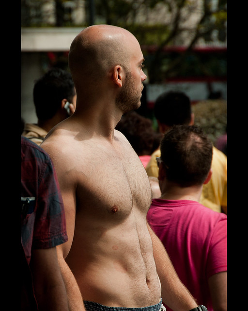 chest at the WNBR by Stuart-Lee
