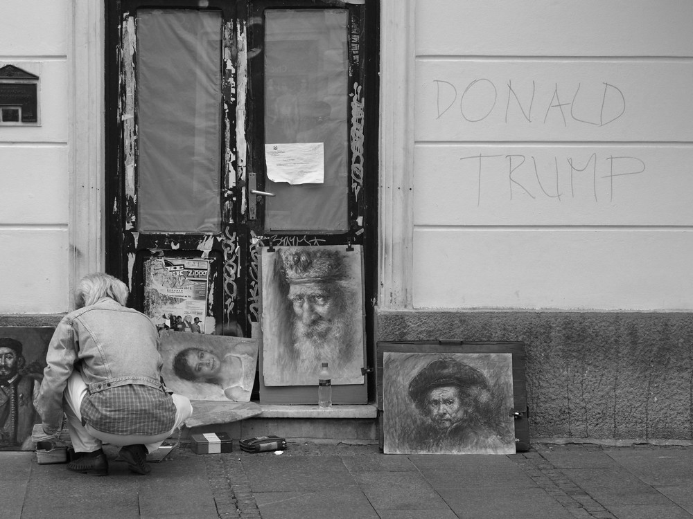 I'm not Donald Trump. Belgrade
