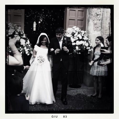 Wedding in B&W
