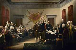 Declaration of independence Trumbull