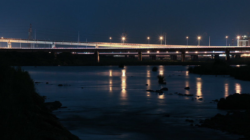 頭前溪經國橋