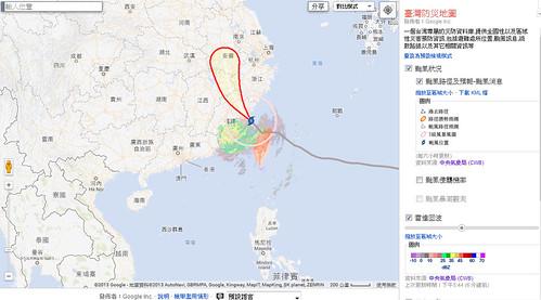 台灣防災地圖