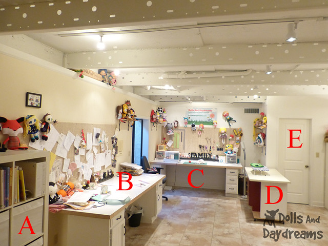 Sewing Room Make Over DIY Dolls And Daydreams 1B