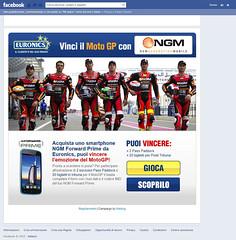 Vinci su Facebook con Euronics!