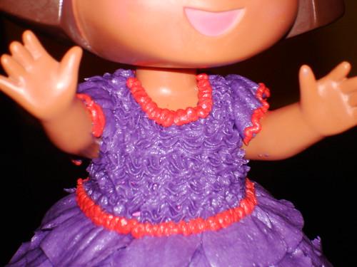 3D Dora the Explorer Cake
