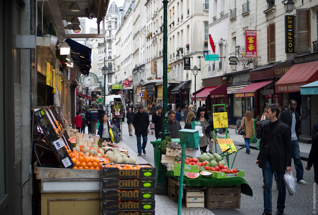 Paris, Rue Montorgueil