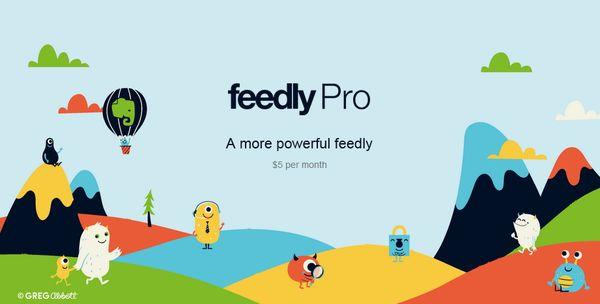 Купить Feedly Pro