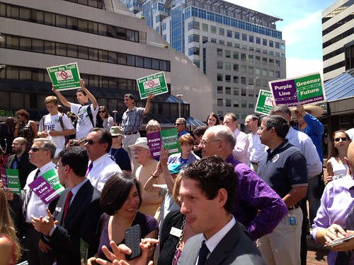 Purple Line Rally, August 5 2013