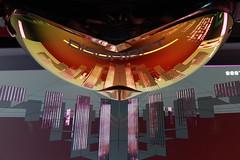 Disor13nt LED Pyramid Simulator on Goggles