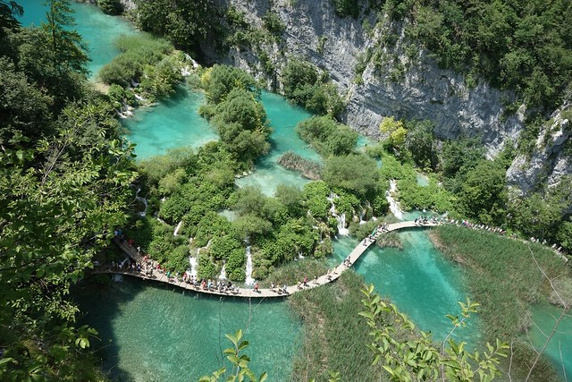 Bird's Eye at Plitvice