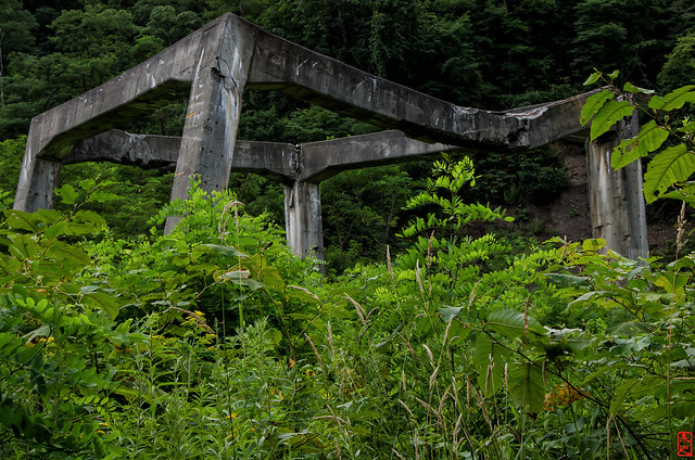 「骨組」 三笠市幌内 - 北海道