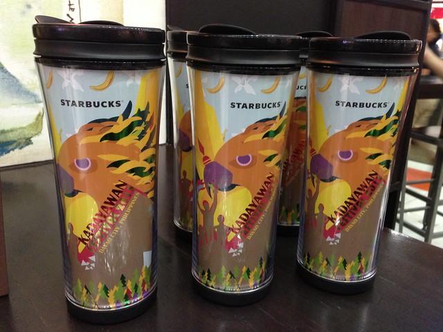 Starbucks Limited Edition Kadayawan Festival Tumbler 2013