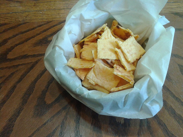 Flourless Cheese Crackers