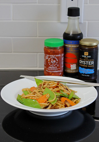 vegetable lo mein (gluten-free)