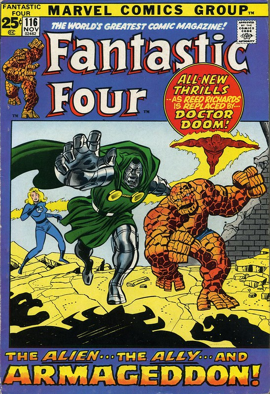 Fantastic Four 116 cover by John Buscema