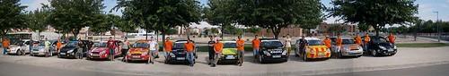Participantes Challengue Focuxtreme en el Rallye de Tierra de Pla d´Urgell Mollerusa 2013