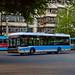 [Buses in Beijing]青年尼奥普兰-华宇 Youngman Neoplan - Huayu JNP6120GD/BJD-WG120N <Trolley-bus> 北京公交集团 BPT #95091 Front-right at Datun East Bus Yard