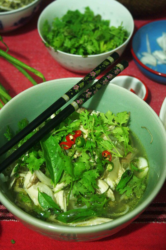 City Food – Julia Child Makes Pho in BK Dutt Colony