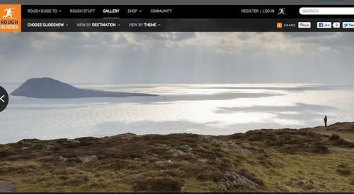 Wedi cyrraedd y Rough Guide (i lefydd anghysbell!). Britain's most remote places!