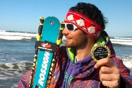 Radim Palán z Dropit týmu vyhrál skikrosový závod na Novém Zélandu