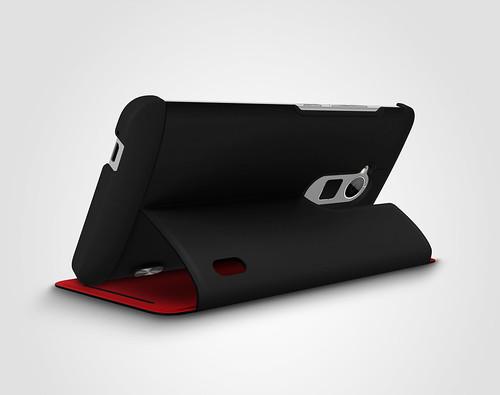HTC One max專屬的HTC Power Flip Case可翻式電源擴充保護套 (2)