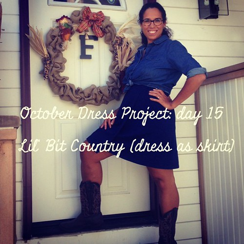 Bad pose but I wanted to show my boots! #ODP: Day 15 #ABeautifulMess