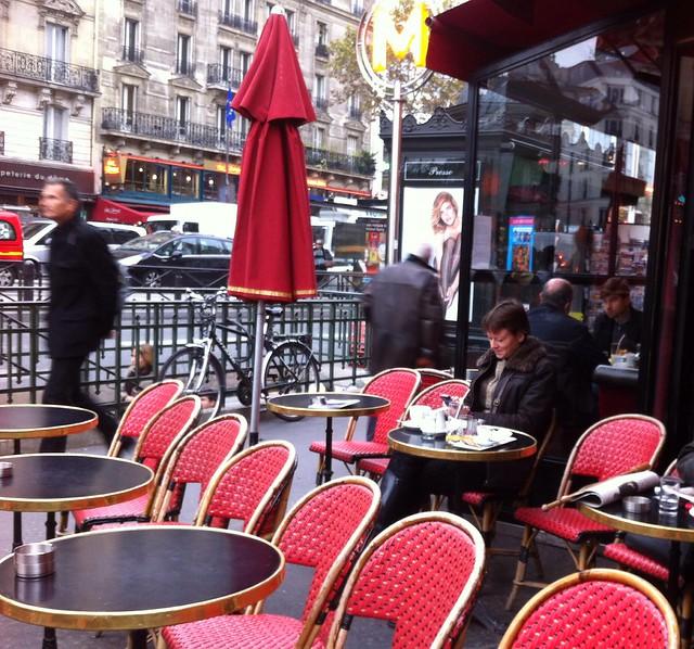 Petit déjeuner à Paris